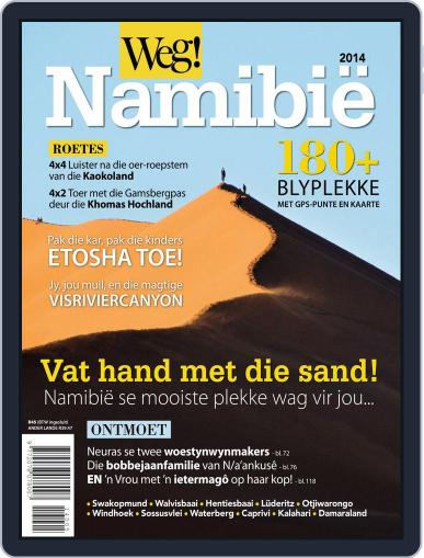 Weg! Namibië Magazine (Digital) April 2nd, 2014 Issue Cover