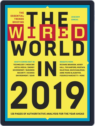 The Wired World Magazine (Digital) November 6th, 2018 Issue Cover