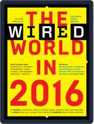 The Wired World Magazine (Digital) Subscription January 19th, 2016 Issue