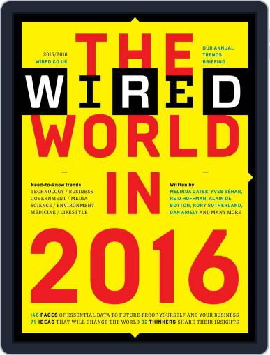 The Wired World Magazine (Digital) January 19th, 2016 Issue Cover