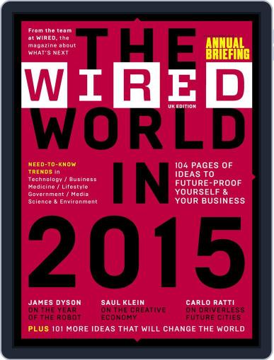 The Wired World Magazine (Digital) January 20th, 2015 Issue Cover