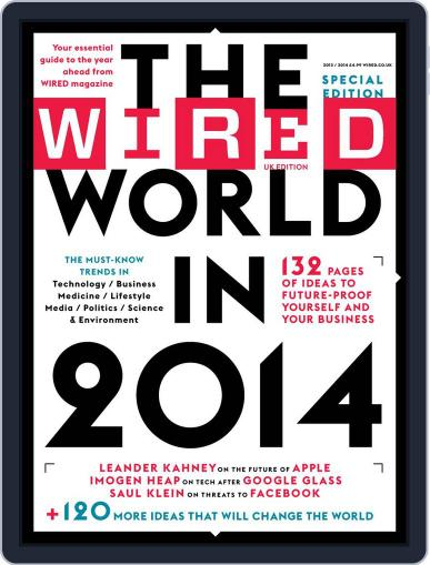 The Wired World Magazine (Digital) January 21st, 2014 Issue Cover