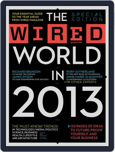 The Wired World Magazine (Digital) January 15th, 2013 Issue Cover