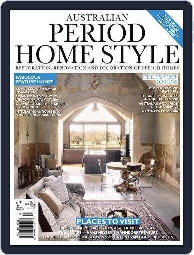 Australian Period Home Style Magazine (Digital) March 1st, 2017 Issue Cover