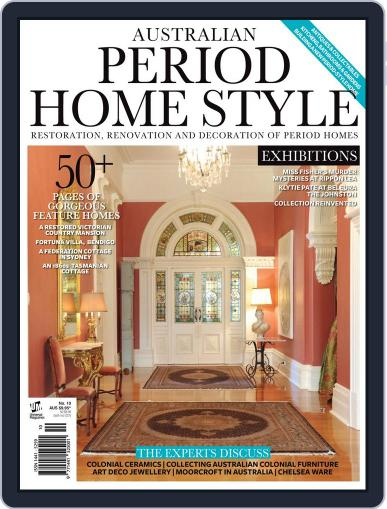 Australian Period Home Style Magazine (Digital) November 1st, 2015 Issue Cover