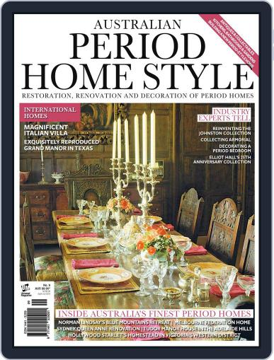 Australian Period Home Style Magazine (Digital) December 18th, 2014 Issue Cover