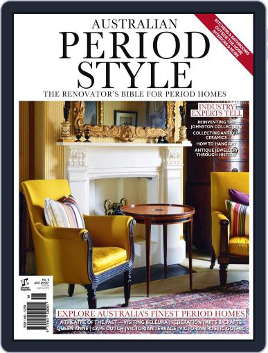Australian Period Home Style Magazine (Digital) November 18th, 2013 Issue Cover