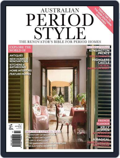 Australian Period Home Style Magazine (Digital) November 1st, 2012 Issue Cover