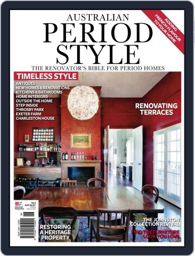 Australian Period Home Style Magazine (Digital) December 1st, 2011 Issue Cover