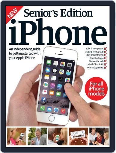 Senior's Edition: iPhone Magazine (Digital) April 15th, 2015 Issue Cover
