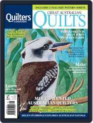 Great Australian Quilts Magazine (Digital) Subscription November 1st, 2017 Issue