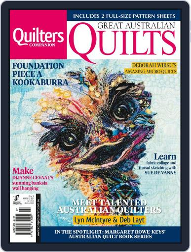 Great Australian Quilts Magazine (Digital) October 10th, 2016 Issue Cover