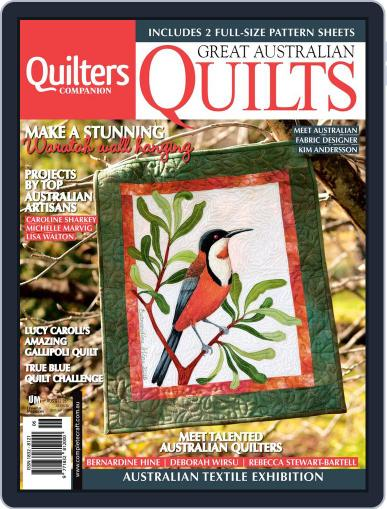 Great Australian Quilts Magazine (Digital) October 7th, 2015 Issue Cover