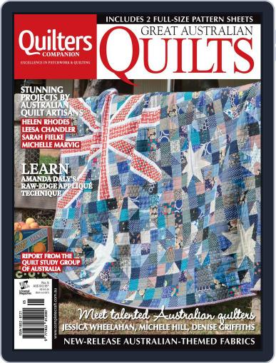 Great Australian Quilts Magazine (Digital) October 8th, 2014 Issue Cover