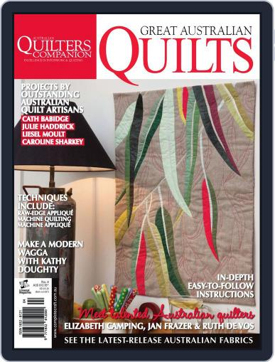Great Australian Quilts Magazine (Digital) August 20th, 2013 Issue Cover