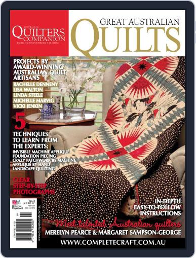 Great Australian Quilts December 12th, 2011 Digital Back Issue Cover