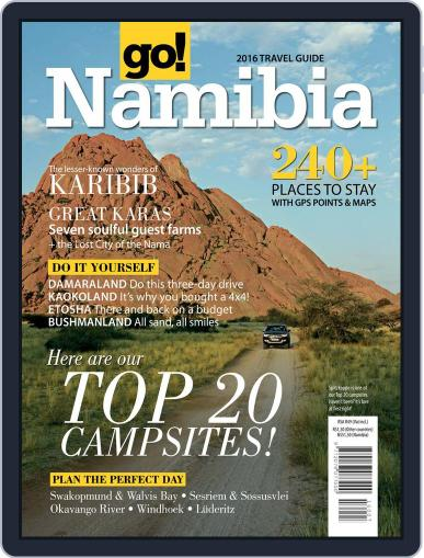 Go! Namibia Magazine (Digital) March 1st, 2016 Issue Cover