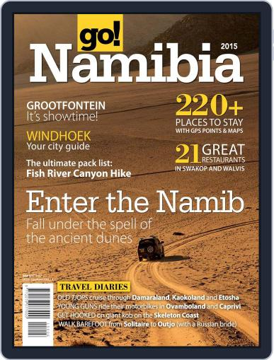 Go! Namibia Magazine (Digital) March 31st, 2015 Issue Cover
