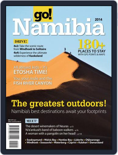 Go! Namibia Magazine (Digital) April 2nd, 2014 Issue Cover