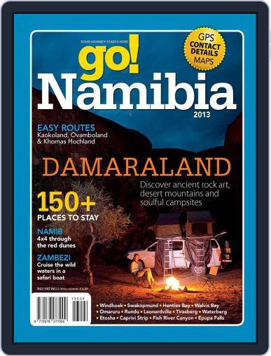 Go! Namibia Magazine (Digital) March 19th, 2013 Issue Cover