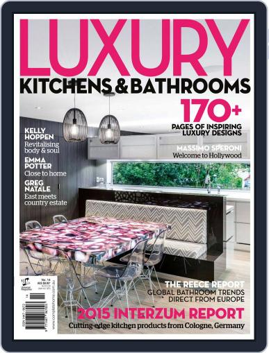 Luxury Kitchens & Bathrooms Magazine (Digital) July 16th, 2015 Issue Cover