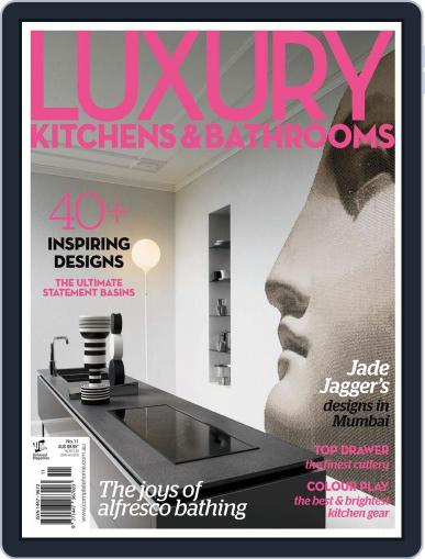 Luxury Kitchens & Bathrooms Magazine (Digital) July 23rd, 2012 Issue Cover