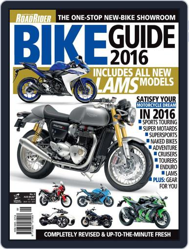 Road Rider Bike Guide Magazine (Digital) May 1st, 2016 Issue Cover