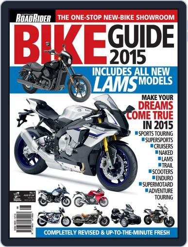 Road Rider Bike Guide Magazine (Digital) March 25th, 2015 Issue Cover