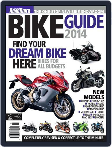 Road Rider Bike Guide Magazine (Digital) March 19th, 2014 Issue Cover