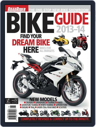 Road Rider Bike Guide Magazine (Digital) March 19th, 2013 Issue Cover