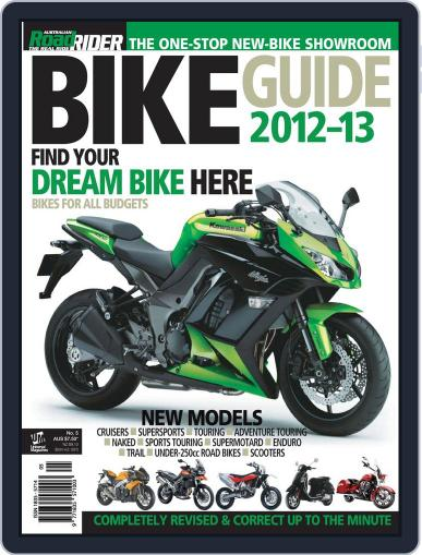 Road Rider Bike Guide Magazine (Digital) March 15th, 2012 Issue Cover