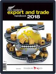 Nz Export And Trade Handbook Magazine (Digital) Subscription January 1st, 2018 Issue
