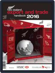 Nz Export And Trade Handbook Magazine (Digital) Subscription January 1st, 2016 Issue