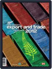 Nz Export And Trade Handbook Magazine (Digital) Subscription January 24th, 2012 Issue