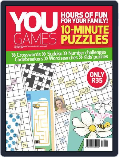 You Play - 10 Minute Puzzles Magazine (Digital) June 23rd, 2015 Issue Cover
