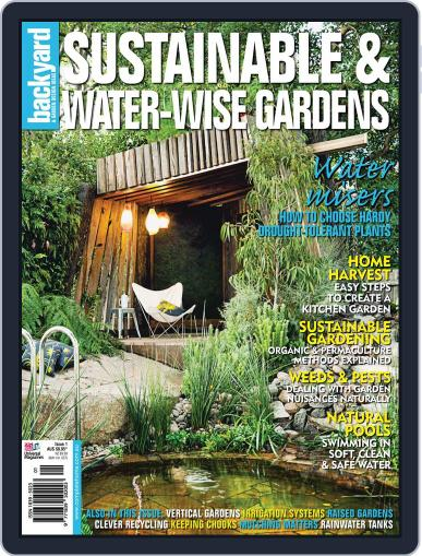 Sustainable & Water Wise Gardens Magazine (Digital) October 20th, 2011 Issue Cover