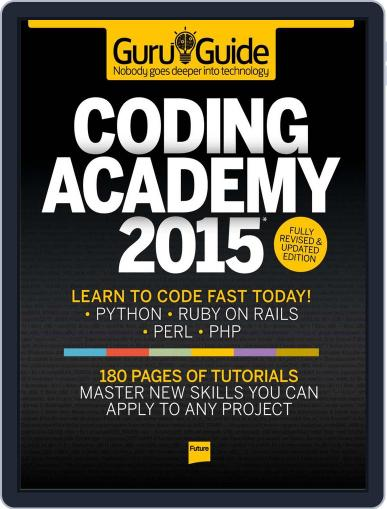 Coding Academy 2015 Magazine (Digital) March 4th, 2015 Issue Cover