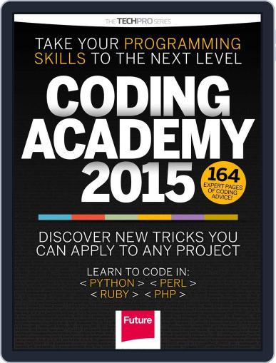 Coding Academy 2015 Magazine (Digital) December 29th, 2014 Issue Cover