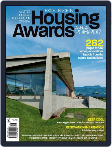 Mba Housing Awards Annual Magazine (Digital) December 1st, 2016 Issue Cover
