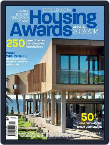 Mba Housing Awards Annual Magazine (Digital) January 1st, 2013 Issue Cover