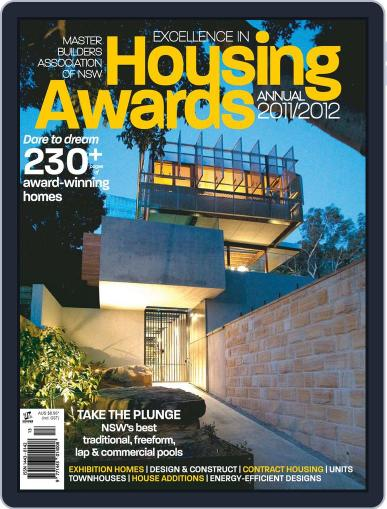 Mba Housing Awards Annual March 1st, 2012 Digital Back Issue Cover
