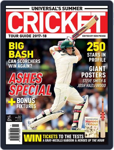 Universal's Summer Cricket Guide Magazine (Digital) September 27th, 2017 Issue Cover