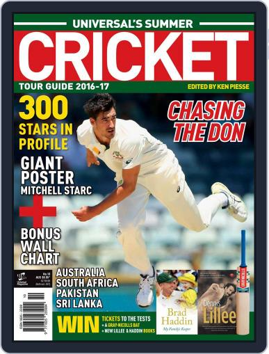 Universal's Summer Cricket Guide Magazine (Digital) October 1st, 2016 Issue Cover
