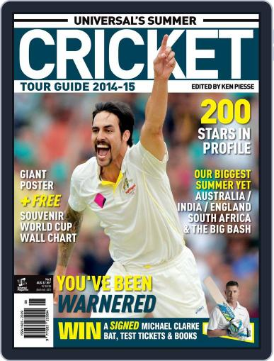 Universal's Summer Cricket Guide Magazine (Digital) November 12th, 2014 Issue Cover