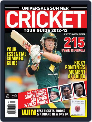 Universal's Summer Cricket Guide Magazine (Digital) October 1st, 2012 Issue Cover