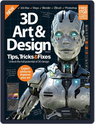 3D Art & Design Tips, Tricks & Fixes Magazine (Digital) June 3rd, 2015 Issue Cover