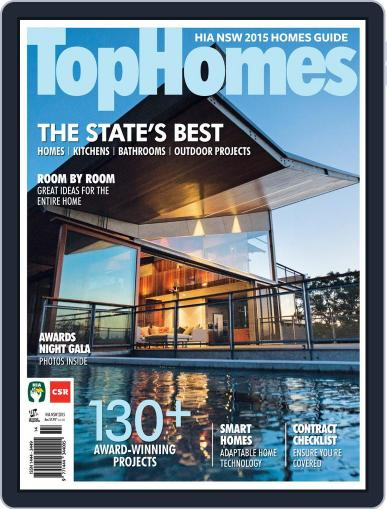 Top Homes Magazine (Digital) March 18th, 2015 Issue Cover