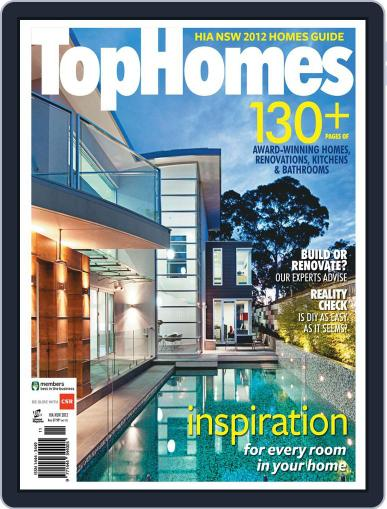 Top Homes Magazine (Digital) March 22nd, 2012 Issue Cover