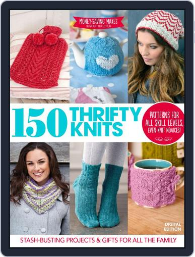 150 Thrifty Knits Magazine (Digital) November 17th, 2014 Issue Cover