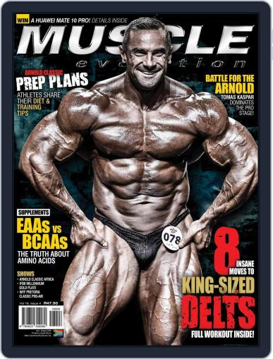 Muscle Evolution (Digital) July 1st, 2018 Issue Cover